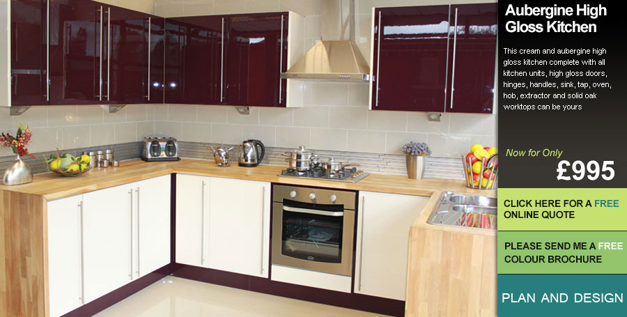 Hi Gloss Different colours KITCHEN